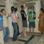 inside Jamali's tomb