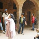 at Ghalib's haveli