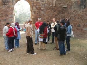 balban's tomb, Mehrauli Archaeological Park Heritage walk