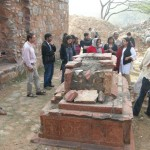 khan shaheed's grave, Mehrauli Archaeological Park Heritage walk