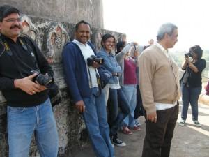 at dilkhusha, Mehrauli Archaeological Park Heritage walk