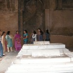 inside Firuz Tughluq's Tomb