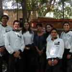 Inauguration day: Shakti, Amit, Dimple, Kanika, Abha, Mohit, Gurdeep